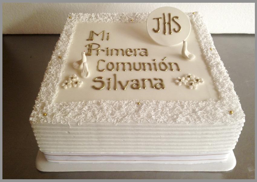 pasteles de primera comunion y confirmacion
